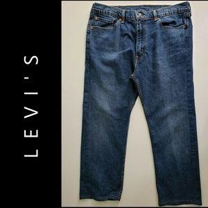 Levi's 505 Men Denim straight Blue Jeans Size 38